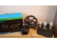 G920 Driving Force Xbox One & PC Steering Wheel & Gear Shift