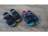 Timberland boys sandals 7,5