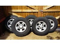 Genuine Land Rover Boost Alloys + Tyres