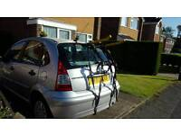 Cycle rack bicycle rack for upto 3 bikes rear carrier