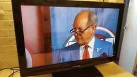 "Panasonic 37"" HD Plasma Tv"