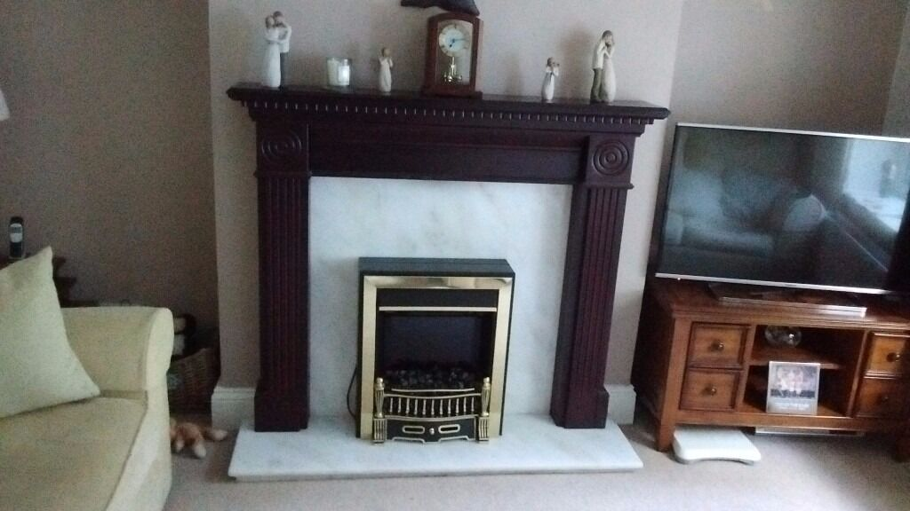 Wood fire surrondin Rowlands Gill, Tyne and WearGumtree - Mahogany wood fire surround very good condition cheap price for a quick sale