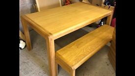 Habitat table and bench