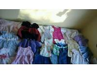 Baby girl bundle 3 to 6 months clothes