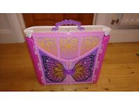 Barbie Mariposa & the Fairy Princess Castle Playset, with dolls, excellent condtion.