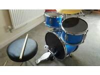 Junior 3 pieces drum kit