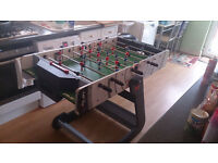 Riley VR-90 4 Foot Folding Football Table - 7/10 Condition - Must Go This Week
