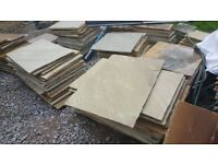 Paving / Garden Patio slabs Fossil Mint - Brand New