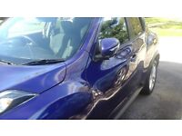 Nissan juke ink blue lots of factory fitted extras