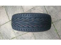 Toyo proxes T1R 195 50 R15 almost new tyre