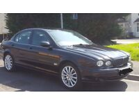 Black Jaguar x type 2005 2.5 sport