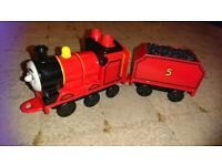 Thomas the tank and Friends red no 5 mega bloks train