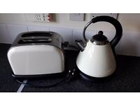 Cream kettle and toaster