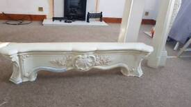 Solid stone/marble fire surround