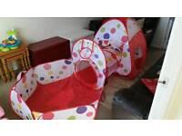 Children tent three in one