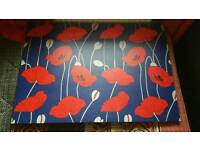 Large poppy canvas free