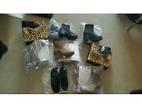 Market traders look! 8 pairs ladies shoes