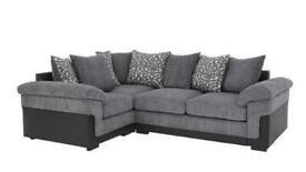 Phoenix L/H Double Arm Corner Group Sofa & Chair