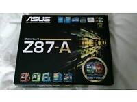 Asus Z87-A motherboard