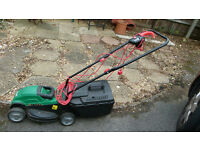 Electric lawn mower. Qualcast. Valley Park, Chandlers Ford