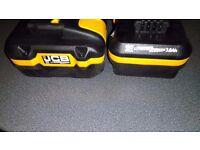 Brand new 2 jcb batteries. 20v 3ah £30 each or 2 for £50 can deliver