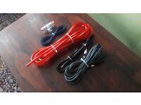 Subwoofer amp wiring kit
