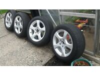 "16"" Mercedes alloy Wheels"