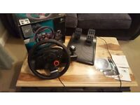 PC & PS3 Steering wheel Driving Force GT
