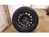 Vw touran steel wheel.