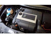 Seat Leon Engine 2.0 TFSi Turbo Engine BWA Still in the car test dri