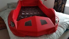 Kids , toddler Storm car bed. Lamborgunie style car bed .