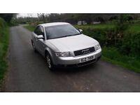 Audi A4 1.9 TDI MOTED £695