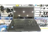 Toshiba C650, 15.6'' screen, Intel Dual-Core 2.30 GHz, 500GB HDD, 3GB RAM, WIFI, DVD, Windows 10