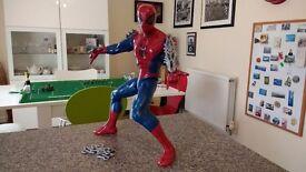 Spiderman 15 inch 'web shooting' electronic figure.