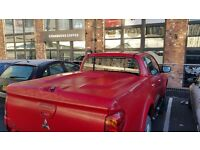 Mitsubishi L200 Challenger Trojan double cab red lockable boot lid canopy hard top Nottingham £275