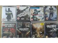 PS3 Games **CALL OF DUTY**