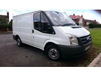 FORD TRANSIT 07 REG . EXCELLENT CONDITION. FULL FORD SERVICE HISTORY. NO V.A.T.