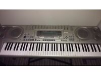 Casio keyboard ,76 keys ,Excellent condition