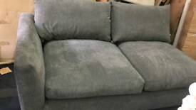Fabric 2 seater part of sofa as new £ 80