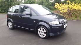 2004 Audi A2 1.4 Tdi £30 Road Tax For a year Very cheap to run and insurance hpi clear Clean car