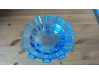 Art Deco Style Glass Bowl
