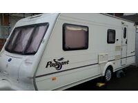 Bailey Pageant Loire 2004 4 berth caravan