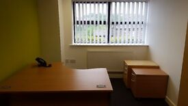 Office space to rent, 1-2 person office, Business rates included in rent. Ample car parking