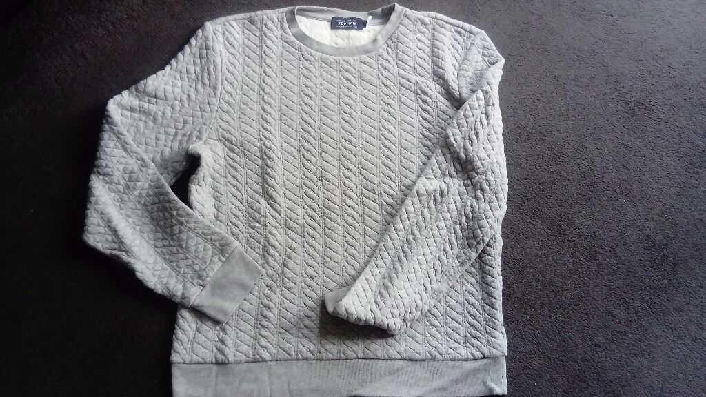Gray mens sweatshirt size S