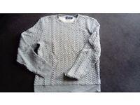 Gray mens sweatshirt size S