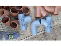 "4"" Plastic Drainage fittings"