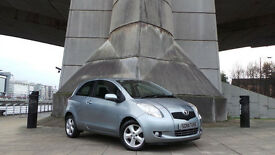 2007 07 TOYOTA YARIS SPIRIT 1.3 SEMI AUTO 34K MOT 11/16(PART EX WELCOME)***FINANCE AVAILABLE***