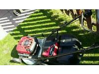 Masport 18 inch push lawnmower swap husqvarna stihl long reach hedge trimmer
