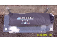 new and unused, 2 person tent/