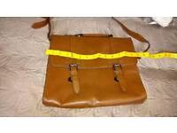 Ckarks leather bag
